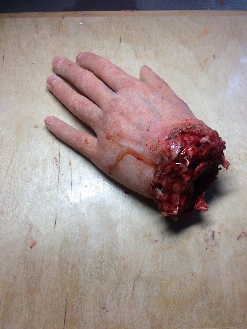 SFX fake hand