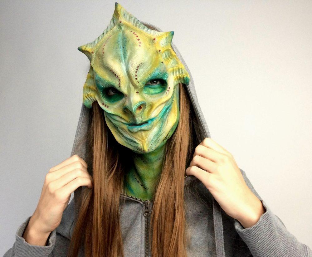 Sfx prosthetics fantasy maska